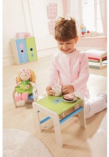 Haba  Lilli and friends houten poppen meubel Poppentafel Paardenbloem 5640-2