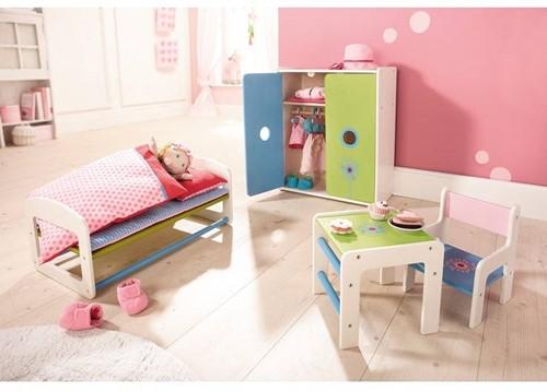 Haba  Lilli and friends houten poppen meubel Poppentafel Paardenbloem 5640-3