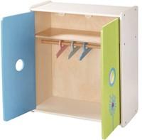 Haba  Lilli and friends houten poppen meubel Poppenkleerkast Paardebloem 5642-2