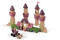 Plan Toys  houten bouwblokken Sprookjes blokken