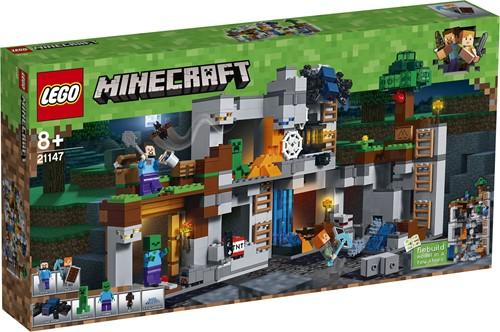 LEGO Minecraft De Bedrock avonturen 21147