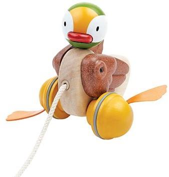 Plan Toys  houten trekfiguur Eend
