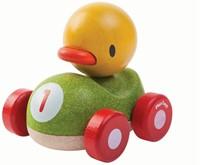 Plan Toys  houten speelvoertuig Duck racer