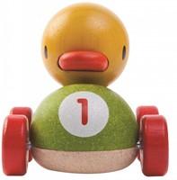 Plan Toys  houten speelvoertuig Duck racer-2