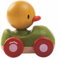 Plan Toys  houten speelvoertuig Duck racer-3