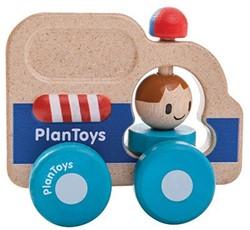 Plan Toys  houten speelvoertuig Rescue car
