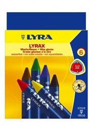 Lyra  Waskrijt teken en verfspullen 6 stuks