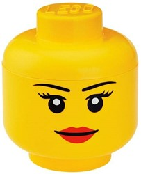 Lego  Opbergbox head girls small