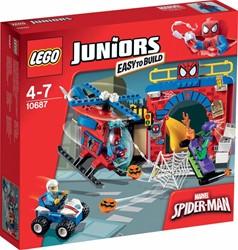 Lego  Juniors set Spider-Man schuilplaats 10687