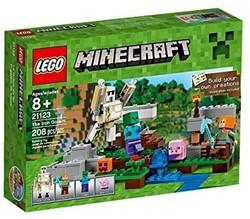 Lego  Minecraft set De ijzergolem 21123