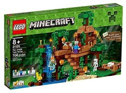 Lego  Minecraft set Minecraft De jungle boomhut 21125