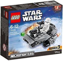 Lego  Star Wars set First Order Snowspeeder 75126
