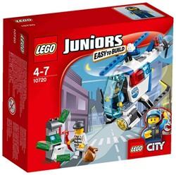 Lego  Junior set Politiehelikopter achtervolgin 10720
