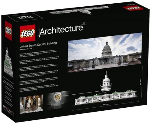 LEGO Architecture Set United States Capitol Building 21030-2