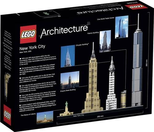 LEGO Architecture Set New York City 21028-2