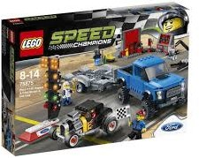 Lego  Speed Champions set Ford F- Raptor & Ford Model A Hot Rod 75875