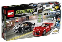Lego  Speed Champions set Chevrolet Camaro dragracer 75874