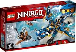 Lego  Ninjago set Jay's draak 70602