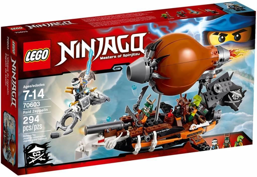 LegoNinjago set Aanvalszeppelin