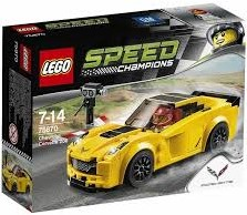 Lego  Speed Champions set Chevrolet Corvette Z 75870