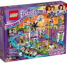 Lego  Friends gebouw Pretpark achtbaan 41130