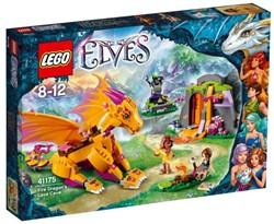 Lego  Elves set De lavagrot van de vuurdraak 41175
