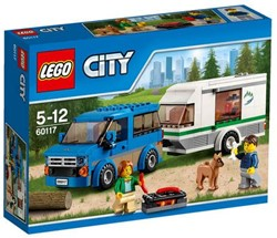 Lego  City set Busje en caravan 60117