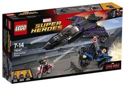 Lego  Super Heroes set Black Panther achtervolging 76047
