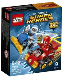 Lego  Super Heroes set Mighty Micros: The Flash vs. Captain Cold 76063