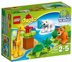 Lego  Duplo set Jonge dieren 10801