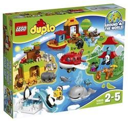 LEGO Duplo Rond De Wereld  Duplo10805