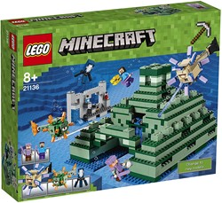 LEGO Minecraft Het oceaanmonument 21136