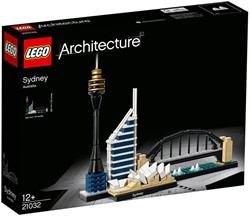 Lego  Architecture set Sydney 21032
