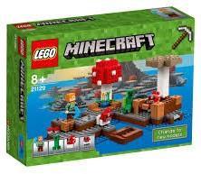 Lego  Minecraft set Het Paddenstoeleneiland (21129)