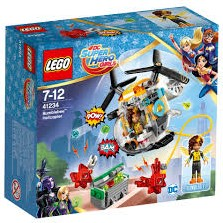 Lego  DC Super Hero Girls set Super Heroes - Bumblebee helikopter 41234