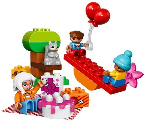 LEGO Duplo Verjaardagsfeestje  Duplo10832-3