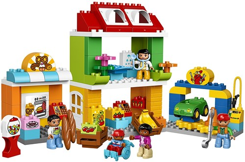 LEGO Duplo Stadsplein  Duplo10836-3