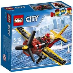 Lego  City vliegveld Racevliegtuig 60144