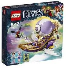 Lego  Elves set Airas luchtschip & de jacht op het amulet 41184