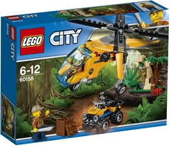 LEGO city Jungle Explorers Jungle vrachthelikopter 60158