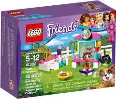 Lego  Friends gebouw Puppysalon 41302