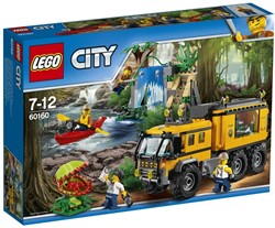 LEGO city Jungle Explorers Jungle mobiel laboratorium 60160