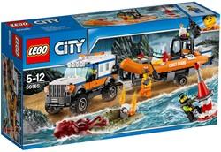 LEGO City Kustwacht 4x4 reddingsvoertuig 60165