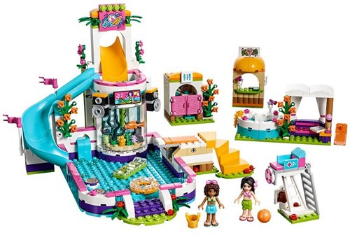 LEGO Friends Heartlake zwembad 41313-3