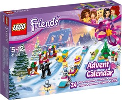 Lego friends advendskalender 41326