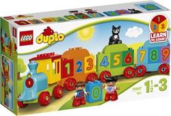 Lego  Duplo set getallentrein 10847