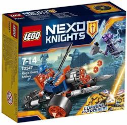Lego  Nexo Knights set Artillerie koninklijke garde 70347