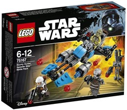 LEGO Star Wars Bounty Hunter Speeder Bike Battle Pack 75167