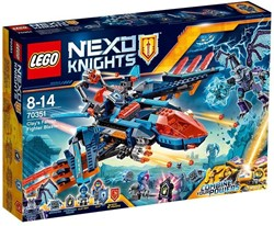 Lego  Nexo Knights set Clay's Falcon Gevechtsblaster 70351