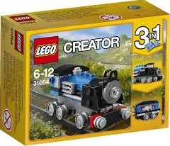 Lego  Creator voertuig Blauwe trein 31054